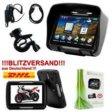 Motorrad Navigation Navigationsgerät GPS 4,3 Zoll TFT Display 8GB Navi Bluetooth