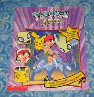 Pokemon 4 Ever The Voice of the Forest Paperback Book with Stickers Excellent