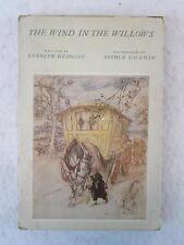 Kenneth Grahame THE WIND IN THE WILLOWS Heritage Press 1962 Arthur Rackham w/SC