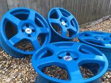 "Genuine OZ Ford Focus MK1 RS alloys Refurbished 18"" VGC Cosworth"