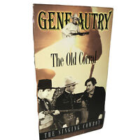 Gene Autry The Old Corral The Singing Cowboy VHS Tapes classic of the Old West