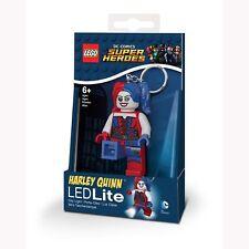LEGO DC SUPER HÉROES Harley Quinn LED Llavero con Luz Linterna NUEVO ledlite