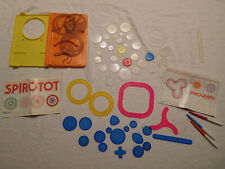 Lot Spirotot + 50 Spirograph Replacement Pieces Parts
