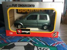 Burago BBurago Fiat 500 Cinquecento 1 24 cod 0194 - Originale EDICOLA!!!