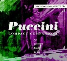 PUCCINI: COMPACT COMPANIONS: A LISTENER'S GUIDE TO THE CLASSICS Brown, Jonathon