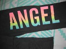 New!!! Victoria's Secret Bling ANGEL Fleece  Pants  Small-Short