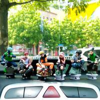 6PCS/Set Anime Naruto Kakashi Gaara PVC Action Figure Collectible Toy Gifts