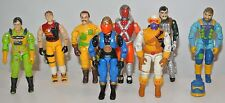 1991 Gi joe action force figure Tracker Desert Scorpion Viper Skymate Zap
