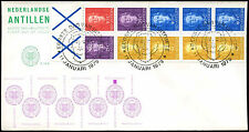 Netherlands Antilles 1979 Definitives Booklet Pane FDC First Day Cover #C26686