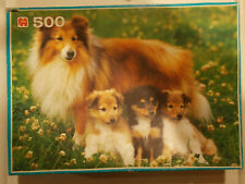 Shetland Collie Dog by Sylvac and a Shetland Collie Jig saw puzzle.