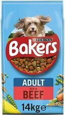 More details for bakers adult dry dog food beef and veg 14kg