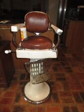 Antique Child's Barber Chair By Kochs