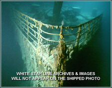 Photo: Titanic's  Bow On The Sea Floor: Wide Field View