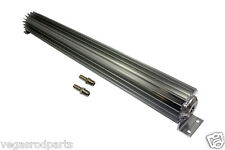"""Transmission Cooler Tube and Finned 24 """" inch single pass design universal alumi"""
