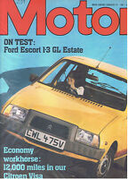 MOTOR Magazine - January 10 1981 - Road Test: Ford Escort 1.3 GL Estate