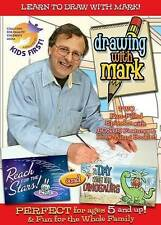 Drawing with Mark: Reach for the Stars/A Day with the Dinosaurs (DVD, 2013) NEW