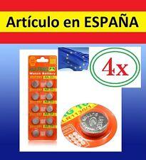 4x Pilas de recambio COLLAR ANTILADRIDOS ULTRASONIDOS AG10 LR1130 389 LR54 L1130