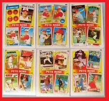 1986 Topps #2-7 -The PETE ROSE Years -History of Reds Great  from 1963-1985