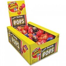 Tootsie Pops-Variety Pack, 100 Pops, Bulk Candy Sucker Lollipops, New