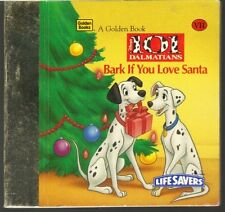 Children's Little Little Golden Book BARK IF YOU LOVE SANTA ~ RARE