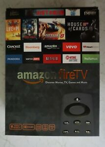Amazon Fire TV (CL1130) with AC Adapter and Remote