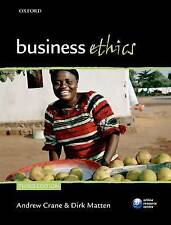 Business Ethics: Managing Corporate Citizenship and Sustainability in the Age of