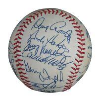 1984 San Diego Padres NL Champs Team Signed NL Baseball JSA COA With Tony Gwynn