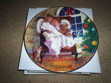 Avon Heavenly Dreams Christmas Plate 1997 In Original Box
