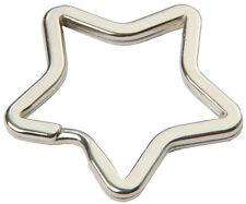 10 Stück Schlüsselringe Stern Sternform Schlüsselring Schlüsselanhänger
