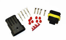 SUPERSEAL AMP TYCO WATERPROOF TERMINAL ELECTRICAL CONNECTOR 4 WAY 1.5-2.5 KIT
