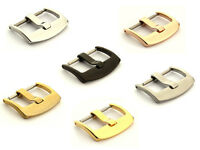 Stainless Steel Tang Buckle BRD for Watch Strap Band 18mm 20mm 22mm 24mm