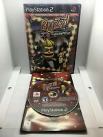 Buzz! The Hollywood Quiz - Complete CIB - Tested & Works -Playstation 2 PS2