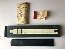 Vintage K&E Slide Rule 4058W in N4081-35 Box Keuffel Esser