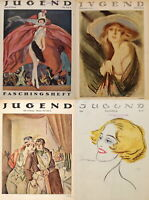 489 ISSUES OF JUGEND VINTAGE GERMAN ART NOUVEAU MAGAZINE JUGENDSTIL VOL3 ON 2DVD