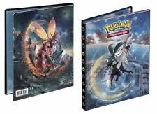 Pokemon Crimson Invasion 4 pocket portfolio binder hold 40-80 SM4