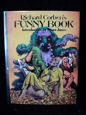 Richard Corben's Funny Book USED Hardcover Book 1976 DEN RARE! (T 2039)