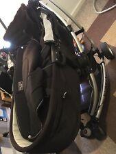 3 wheeler convertable bassinetteblue baby pram 3 in 1