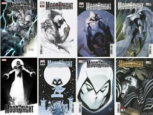 Moon Knight #1 2021 Marvel Comics Pre-sale 07/21/21- 8 COVERS - *FREE SHIPPING*