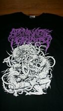 ABOMINABLE PUTRIDITY T SHIRT MONSTROUS ABSORPTION SIZE 2X