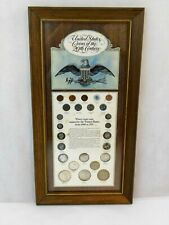 United States Coins of the 20th Century - Total Coins 25 Coins Minted 1887-1972