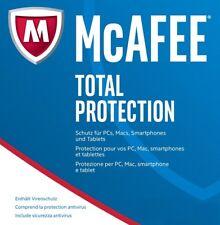 McAfee Total Protection 1 Gerät - 1 Jahr - Gültig für 2017 Download  Dt. / KEY