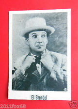 actors acteurs figurine cigarettes card cigarrillos julepe 1 serie 39 el brendel