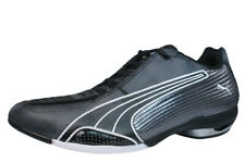 Womens Leather Motorsport Trainers Puma Testastretta Bike Cycling Shoes Black