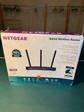Netgear N450 450 Mbps 4-Port 10/100 Wireless N Router (WNR2500) 3 - Antenna