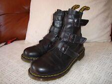 Dr Martens Air Wair Blake Buckle Boots 7 Rare, Punk , Goth