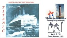 RMS TITANIC 1912 SINKING North Atlantic Iceberg Disaster Pictorial PM Lighthouse
