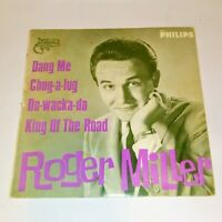"""ROGER MILLER - King Of The Road / Dang Me - 7"""" 45 RECORD"""