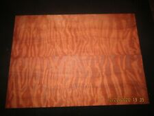 OLD GROWTH QUILTED REDWOOD GUITAR BOOK MATCH SET.....SUPER!