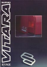 Suzuki Vitara 1.6 Soft Top Estate 1992-1993 original UK Sales Brochure