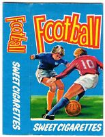 PRIMROSE CONFECTIONERY-SWEET CIGARETTE PACKET-BOX-FOOTBALL